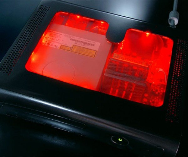 Xcm_Black_Light_Case_Xbox_360_Red