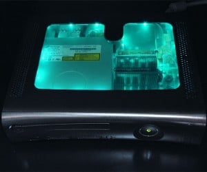 Xcm Black Light Chameleon Case for Xbox 360 Gives Your Console a Colorful Makeover
