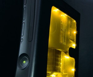 xcm black light case xbox 360 yellow 300x250