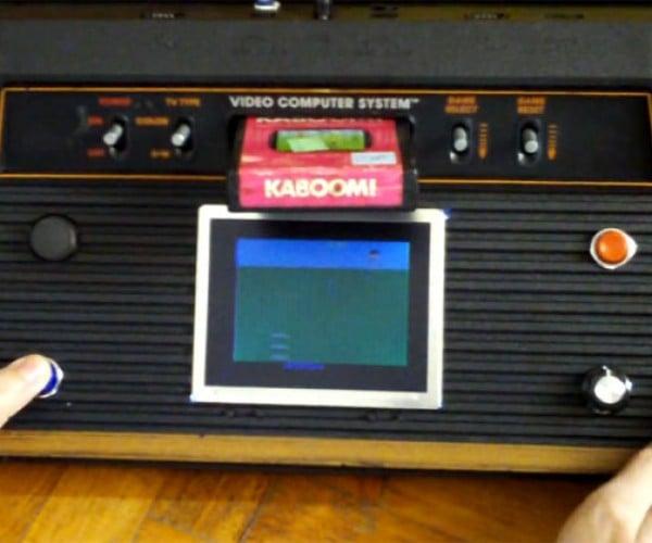 Atari 2600 Portable/Luggable: the Stella-Tubby