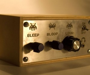 Atari Punk Console has Three Settings: Bleep, Bloop and Loud