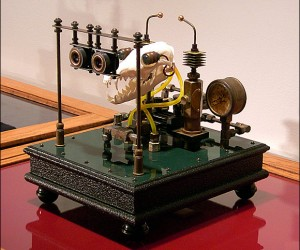 "Art Math: Steampunk Technology + Bones = ""Osteomechanics"""