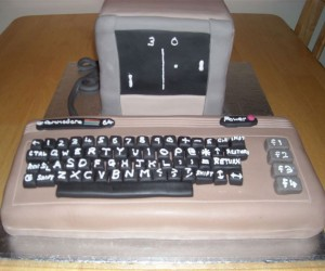 Commodore 64 Cake Looks Retrolicious