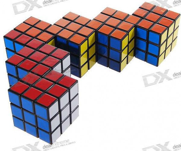 Conjoined Rubik's Cubes Make My Head Spin