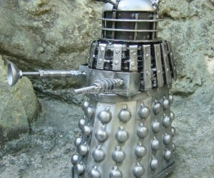 dalek art from steel 300x250