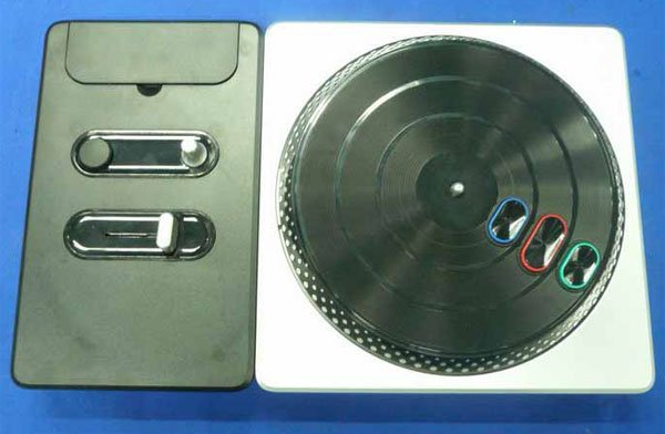 dj hero controller top