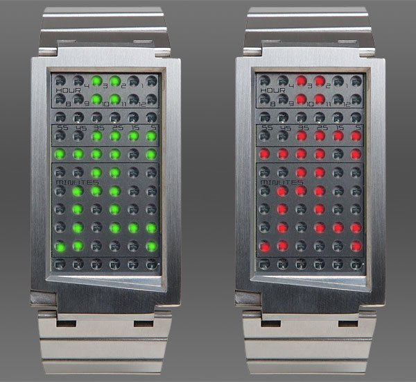 dual touch red green slv