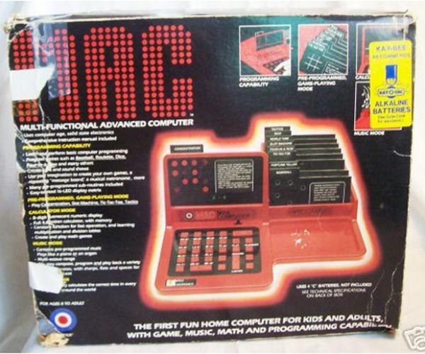 Rare Red Original Mac Computer Up for Bid on Ebay