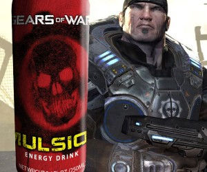 Gears of War Imulsion Energy Drink: Mmmmm. Imulsion.