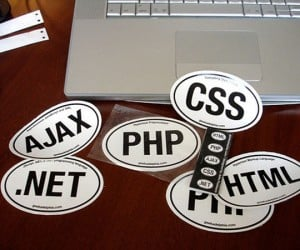 Web Coder Bumper Stickers: Honk if You Love to Write Code!