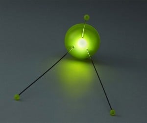 glowing led lamp green 300x250