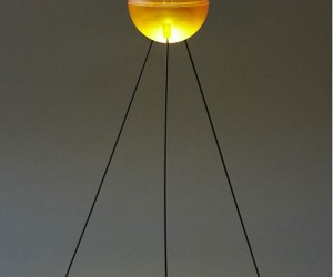 glowing led lamp yellow 300x250