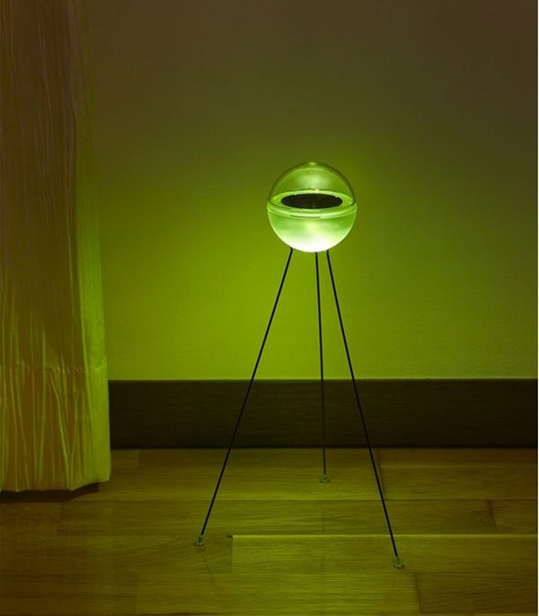 glowing led ufo lamp