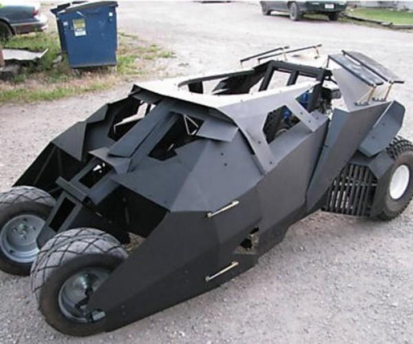 Batmobile Tumbler Go-Kart: for Dark Squires
