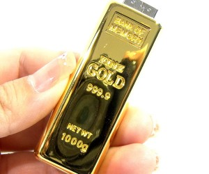 999.9 Pure Gold USB Flash Memory is Purely Fake