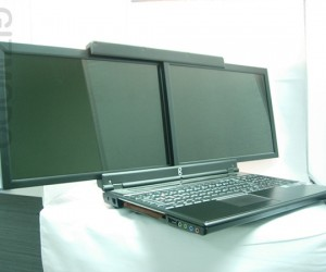 Gscreen Spacebook: 2 Screens, 1 (Lap)Top