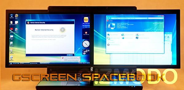 "بــ""شاشتين"" gscreen-spacebook-2."