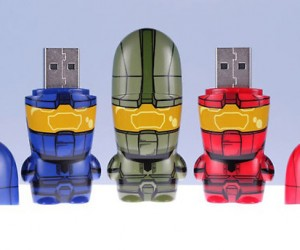 Halo Mimobot Flash Drives Defends Your Data From the Covenant