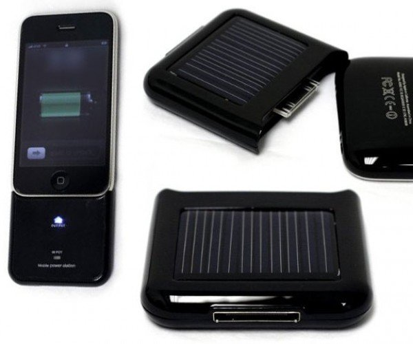 Recharge Your iPhone 3g or 3gs With the Power of the Sun