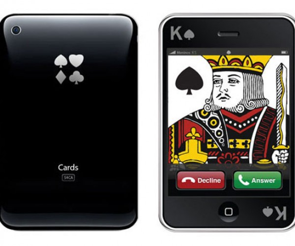 IPhone Playing Cards: You Gotta Know When to Hold 'Em
