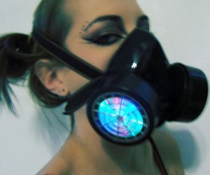 LED Respirator Gas Mask: Perfect for Raves – Especially With Tear Gas