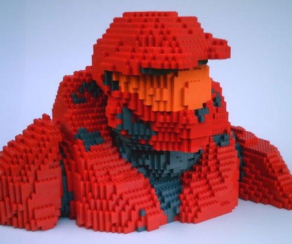 LEGO + Halo + Rvb = Awesome