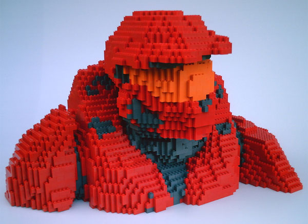 Lego halo rvb awesome technabob - Lego spartan halo ...