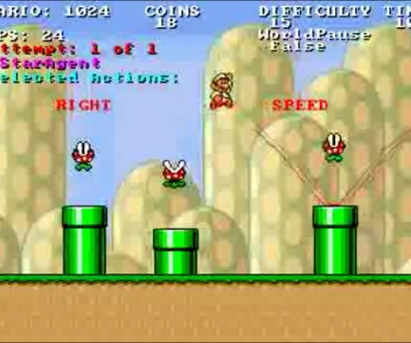 Computer Algorithm Does Not Play Mario, It Solves Mario