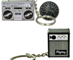 Mighty Mini Boom Box and Amp Speakers May be Tiny, but They'Re Strong