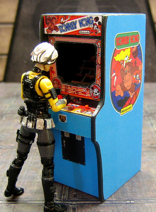 Amazingly Detailed Mini Arcade Cabinets Perfect For Barbie