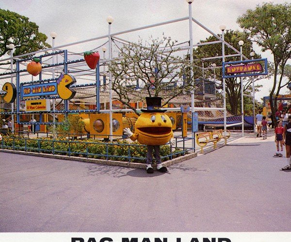 Pac-Man Land Theme Park: Blast From the Past