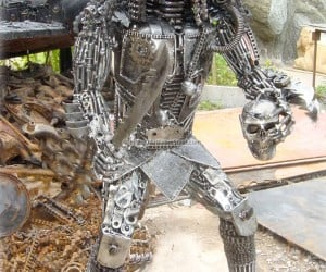predator art from steel 300x250
