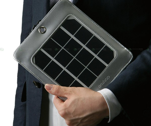 Sanyo Eneloop Portable Solar USB Charger: Green Energy on the Go