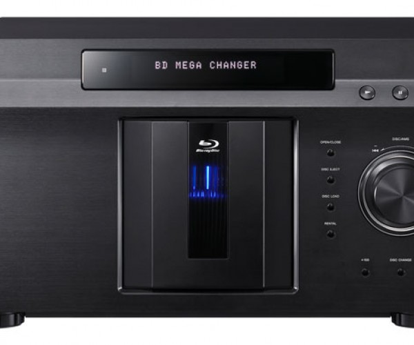 Sony Bdp-Cx7000es Mega Blu-ray Changer Lets You Play Up to 400 Discs Without Getting Up From the Couch