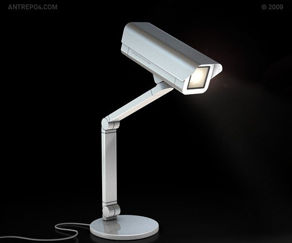 Spoticam Lamp is Watching You