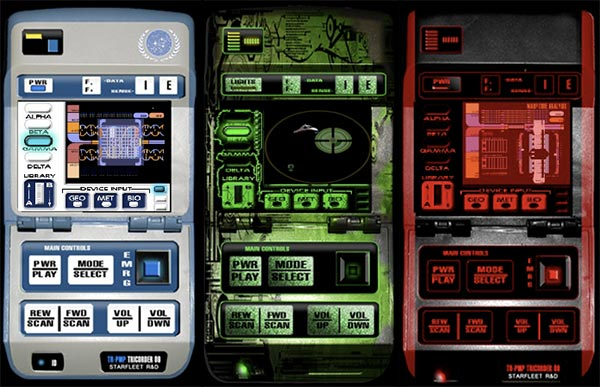star trek tricorders