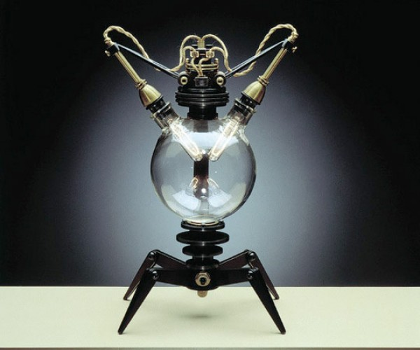 Steampunk Lamp by Frank Buchwald