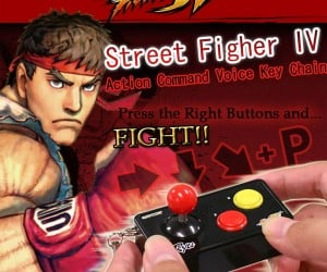Street Fighter 4 Cell Phone Strapya Joystick: Combo Moves on the Go