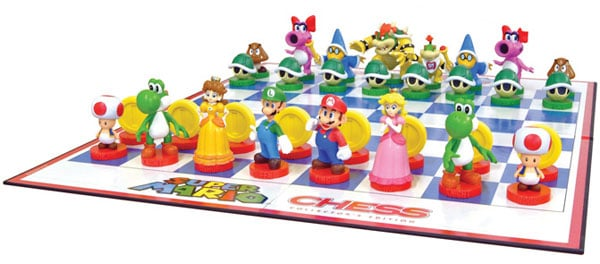 super mario chess board