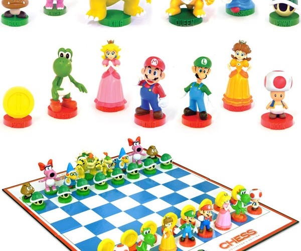 Super Mario Chess Set: Peach to Goomba 4 – Checkmate!