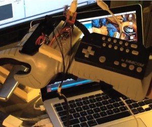 Synthglove: Nintendo Power Glove as Midi Controller
