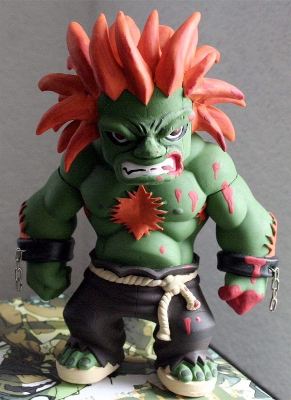 blanka street fighter figure