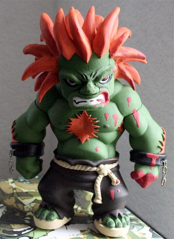blanka street fighter figure