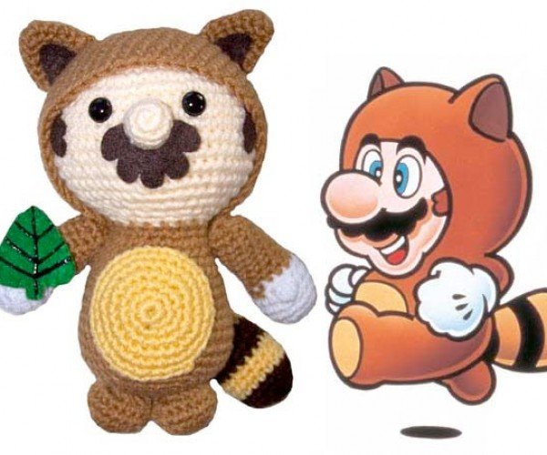 Huggable, Squeezable Mario (Now With Tanooki Suit)