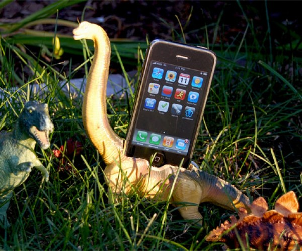 Charge Your iPhone Inside a Dinosaur