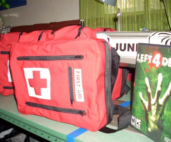 Left 4 Dead First Aid Kits, for the Hardest of the Hardcore Fans