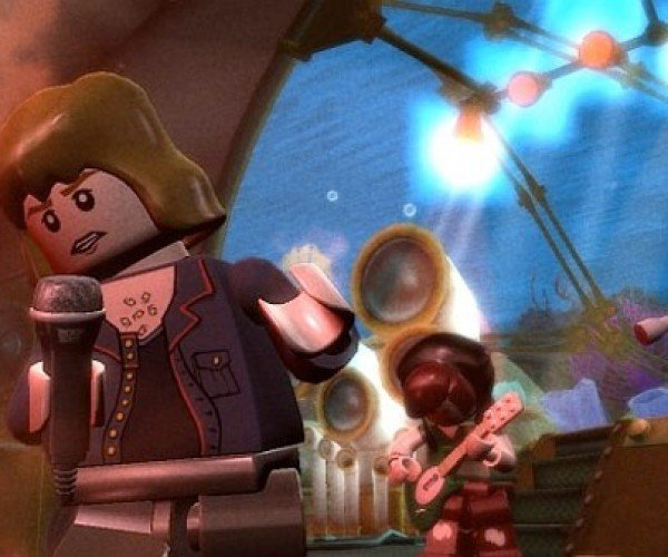 LEGO Rock Band Brings the House Down
