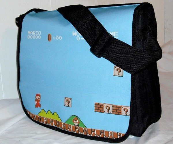 Messenger Bags for Old School Gamers (and Everyone Else)