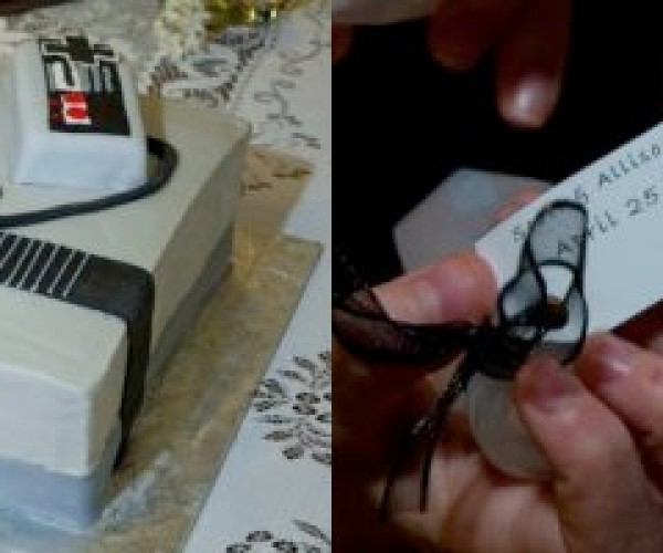 A Little Nintendo Goes a Long Way at Weddings