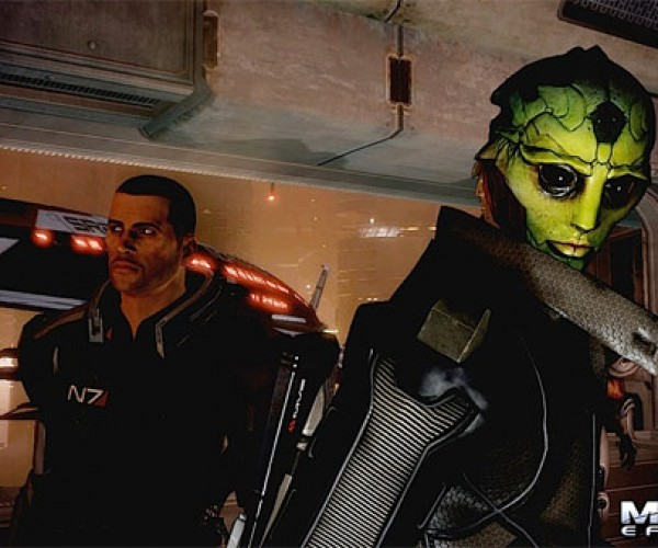 Mass Effect 2 and Shepard'S New Friend